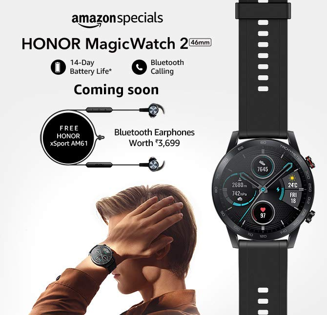 Honor Magic Watch 2 46mm India Price, Specs and Features