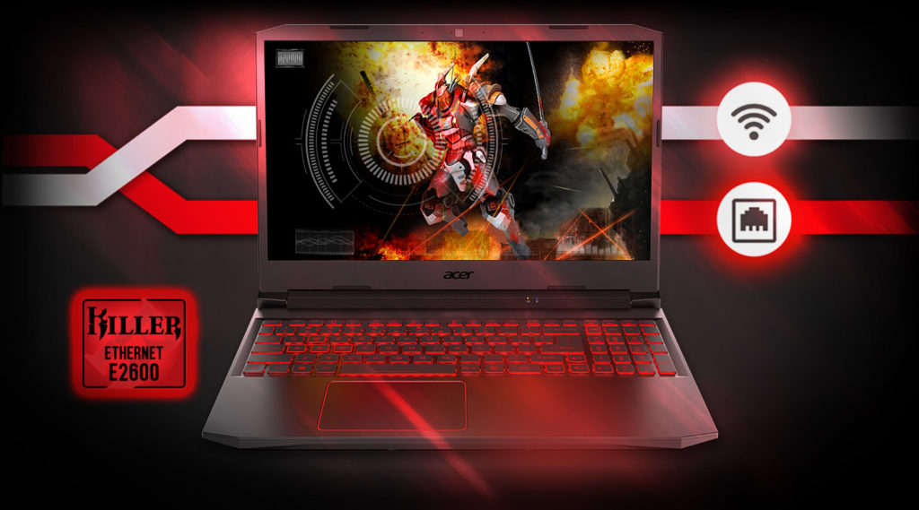 Acer Nitro 5 laptop 10th gen intel