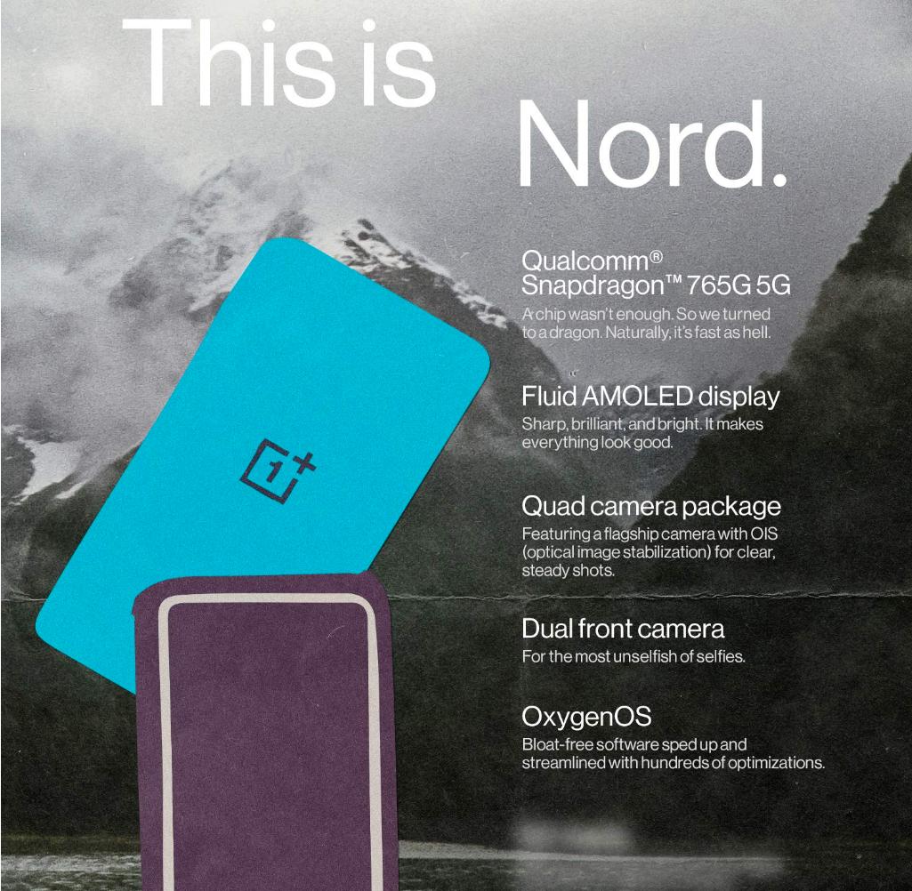 OnePlus Nord India Specs
