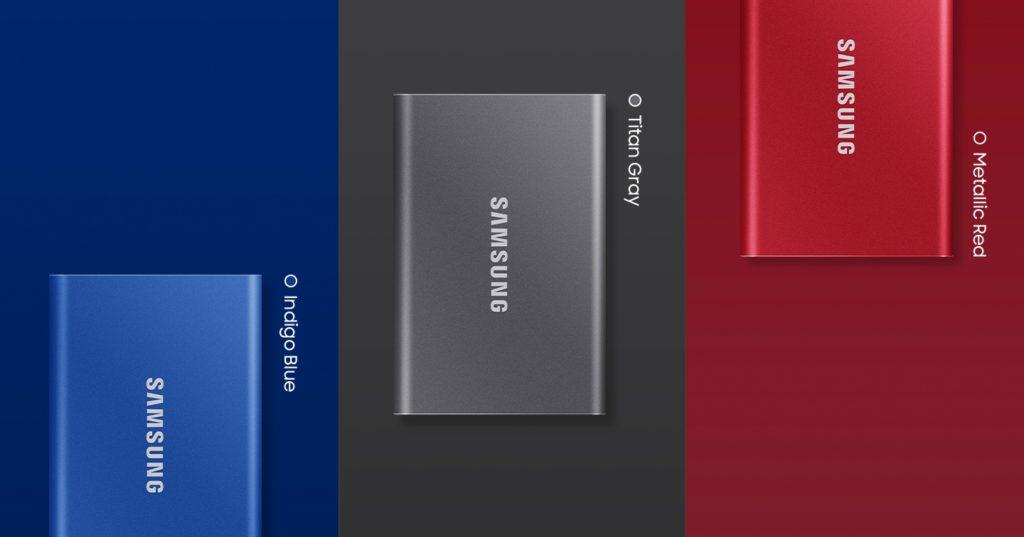 Samsung T7 SSD india price
