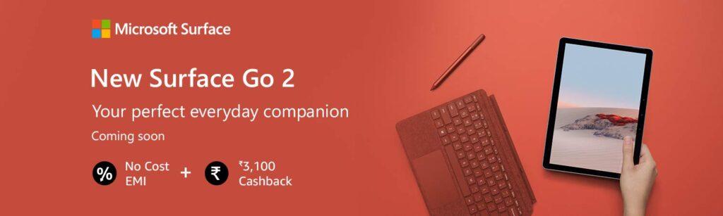 Microsoft Surface Go 2 India Price