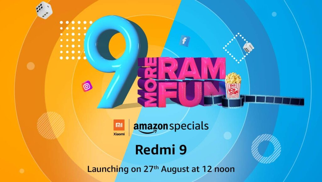 Xiaomi redmi 9 india launch