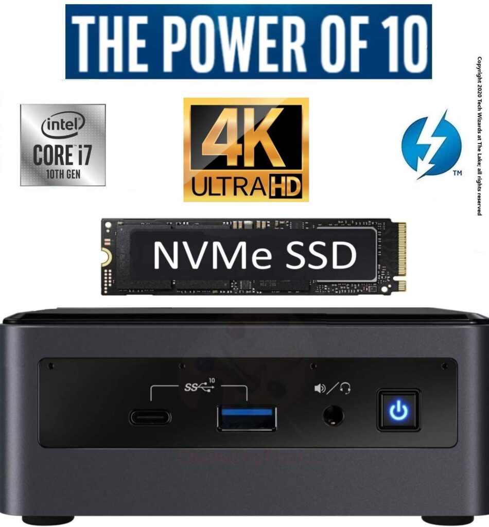 Intel NUC NUC10i7FNH Mini PC