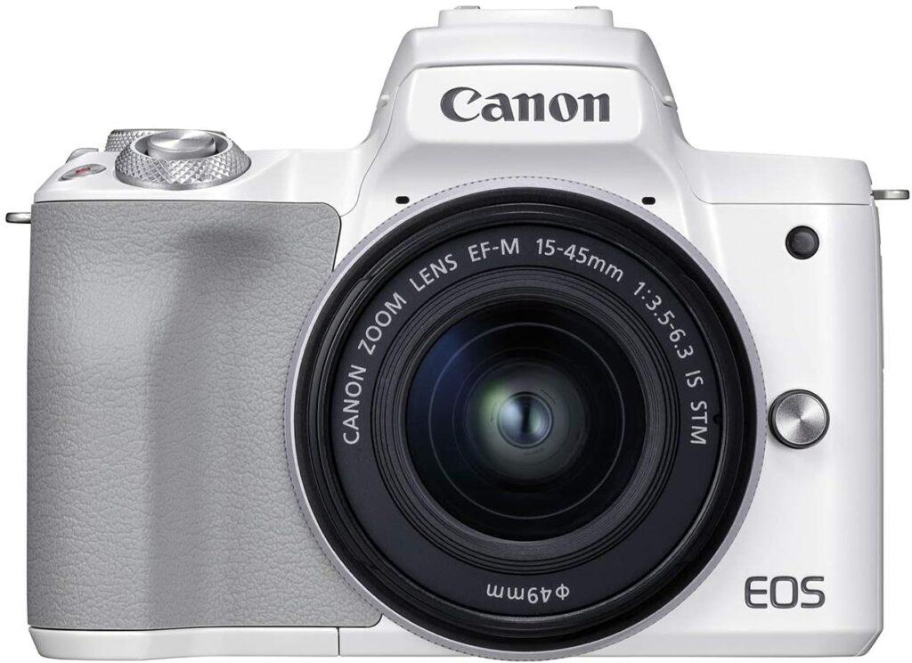 Canon EOS M50 Mark II White Color