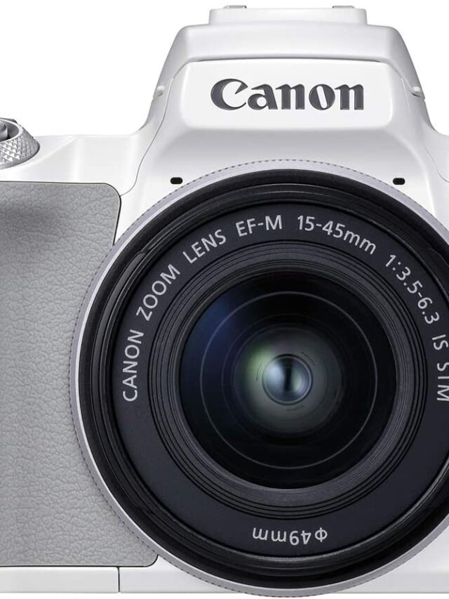 Canon EOS M50 Mark II up for Pre-order on Amazon US