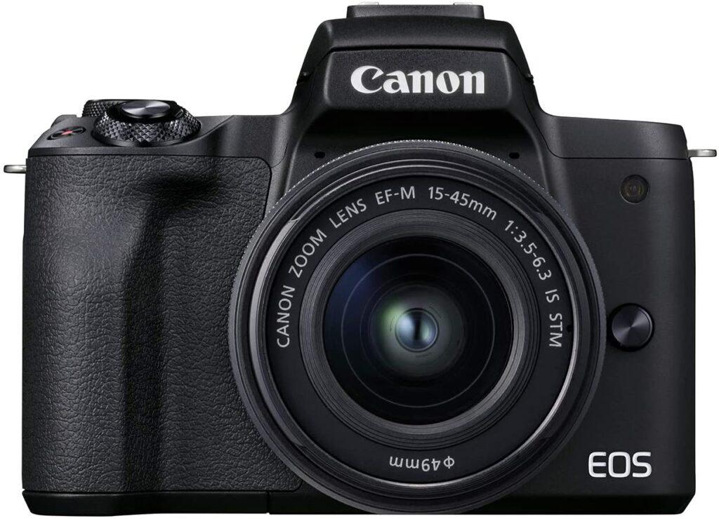 Canon EOS M50 Mark II Black color
