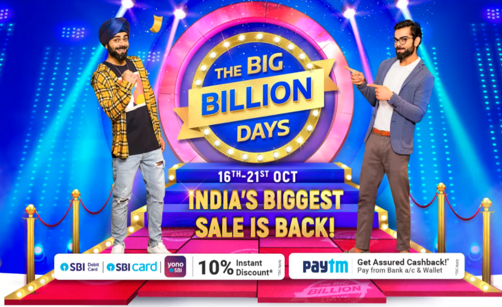 Flipkart Big Billion Days 2020 Date 1