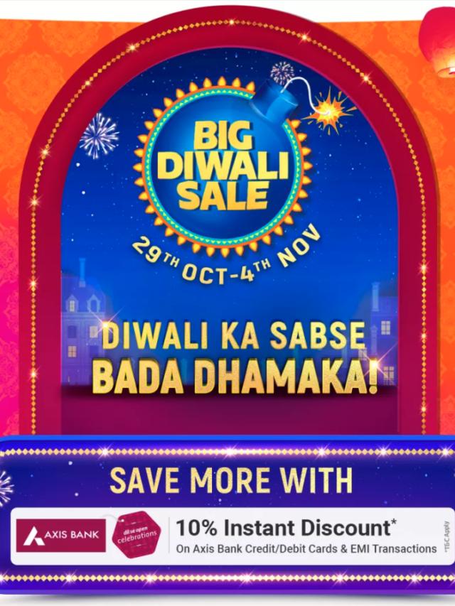 Big Diwali Sale 2020 Offers - Flipkart | Amazon.in ( Oct 29-Nov 4 )