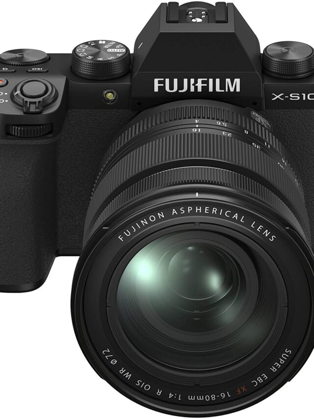 Fujifilm X-S10 up for Pre-order on Amazon US