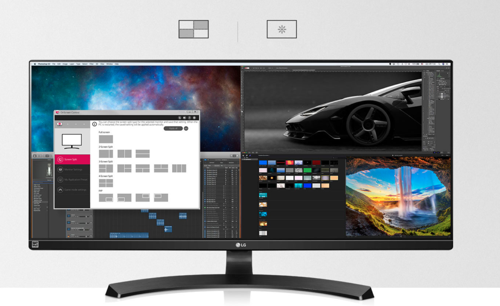 LG Onscreen Control