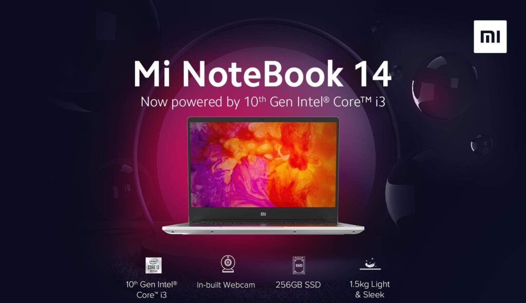 Mi Notebook 14 with Core i3 processor