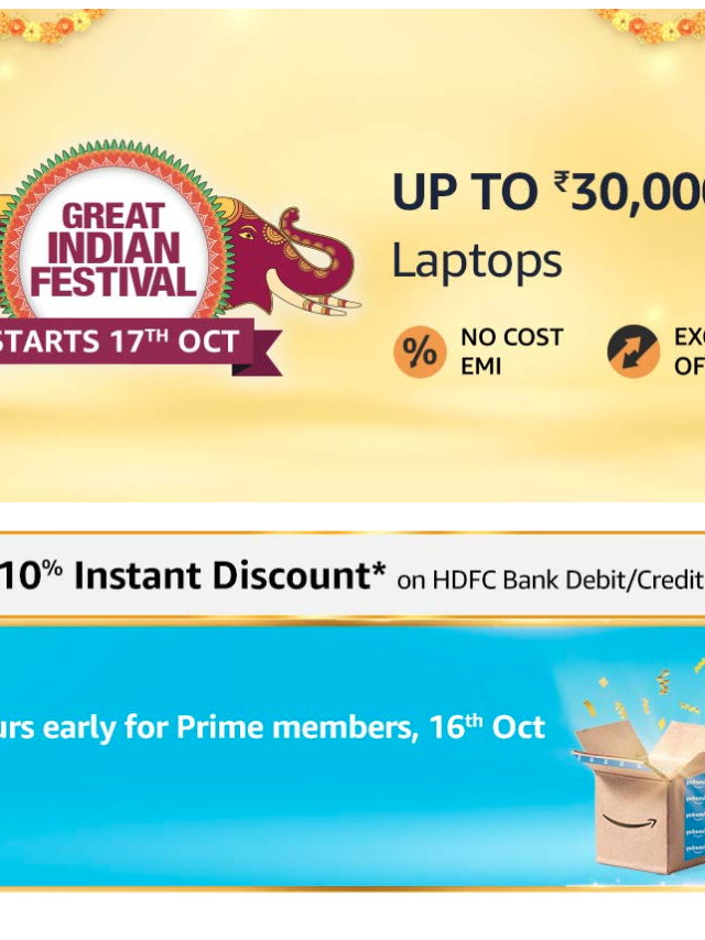 Oct 17 Gaming Laptops Offers | Amazon Great Indian Festival 2020 Sale