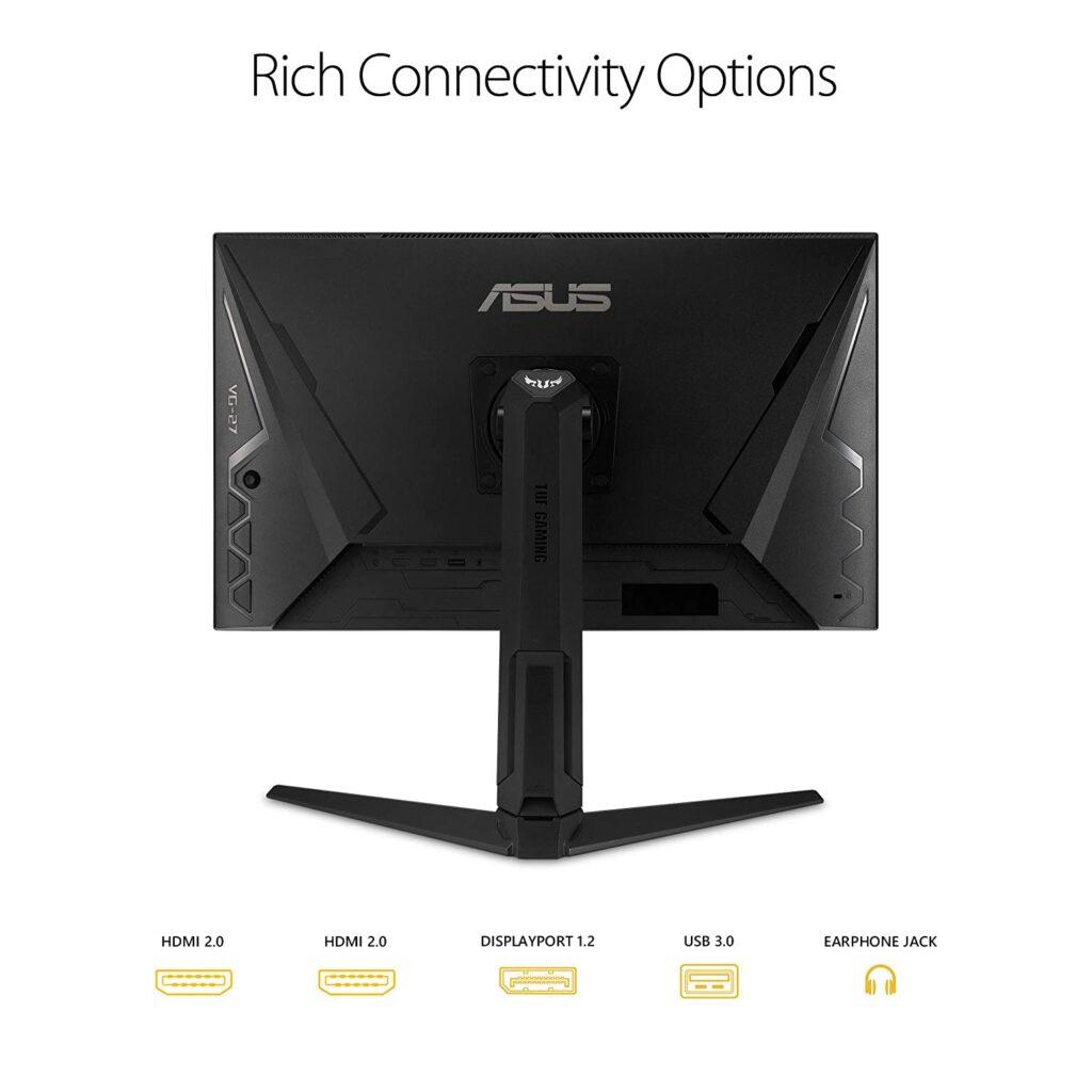 ASUS TUF VG27AQL1A Monitor Back
