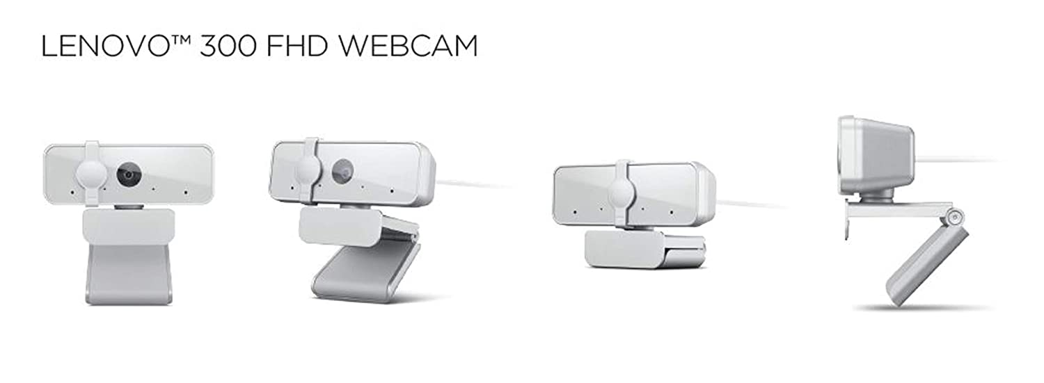 Lenovo 300 FHD WebCam Price in India ( GXC1B34793 )