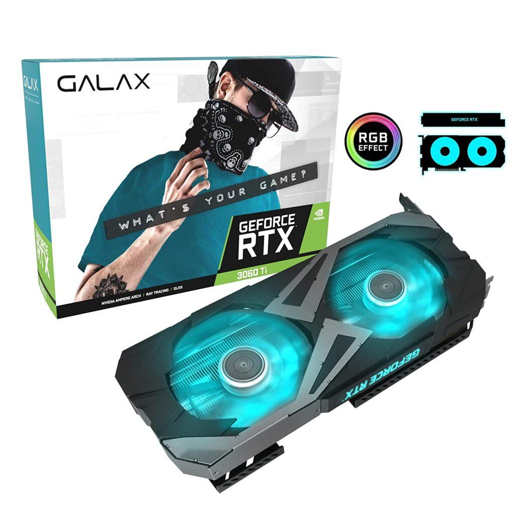 Galax GeForce RTX 3060 Ti EX 1 Click OC