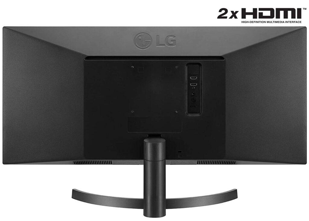 LG UltraWide 29WL50S ports