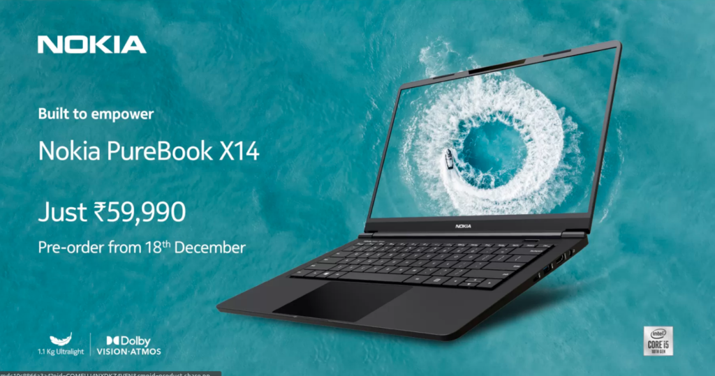 Nokia PureBook X14 NKi510UL85S
