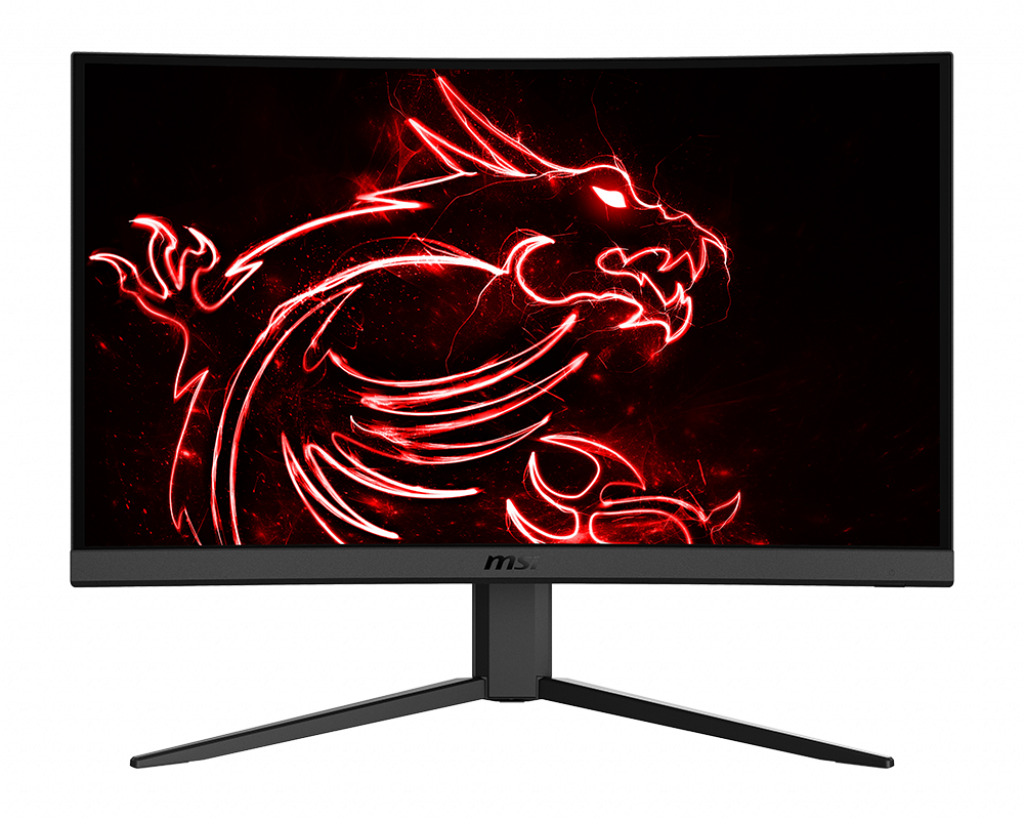 MSI Optix G24C4 Curved Monitor Price in India ( Full HD 144hz 1ms )