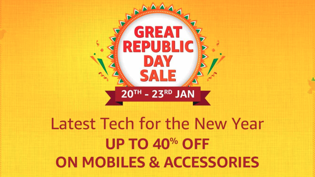 Republic Day 2021 sale amazon india