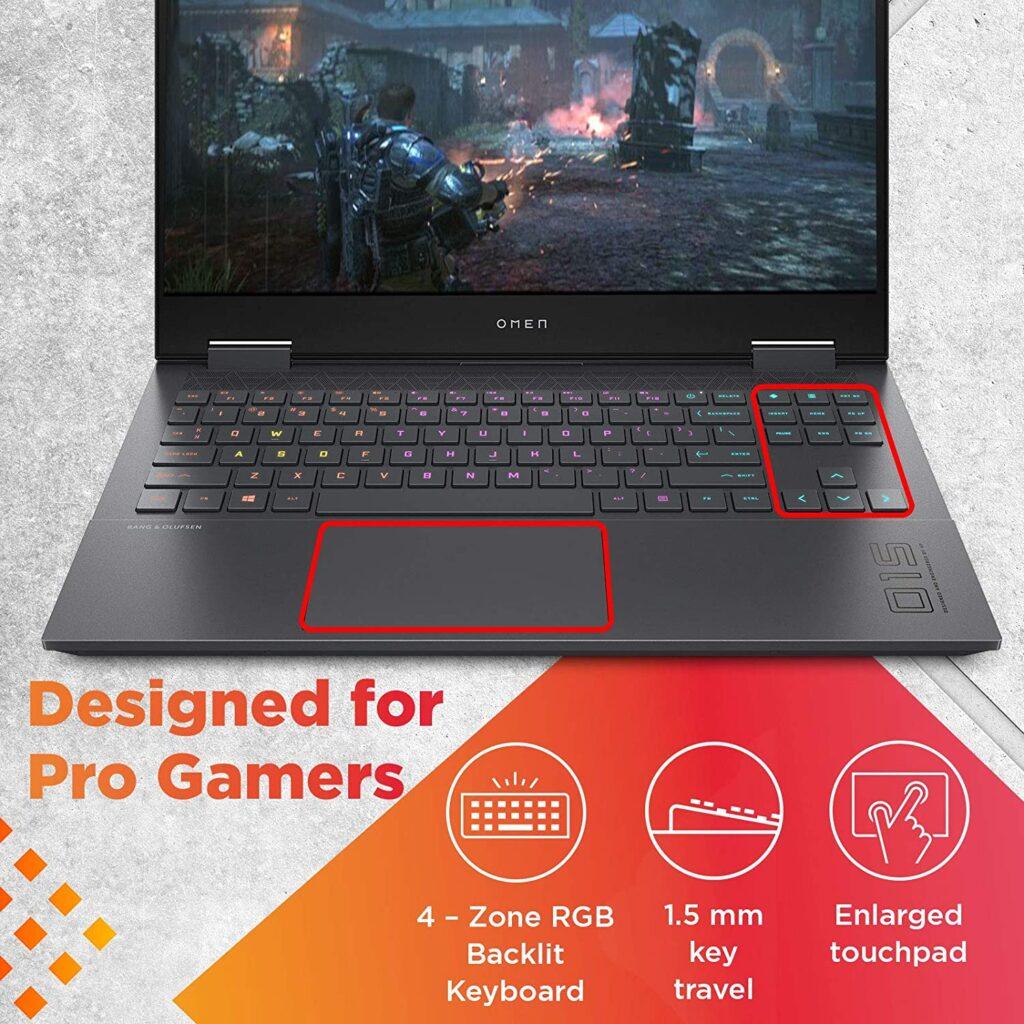 HP Omen 15 en0501AX Laptop Keyboard
