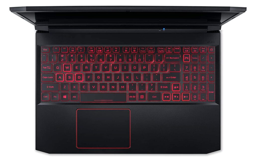 Acer Nitro 5 AN515 55 RTX 3060 Keyboard