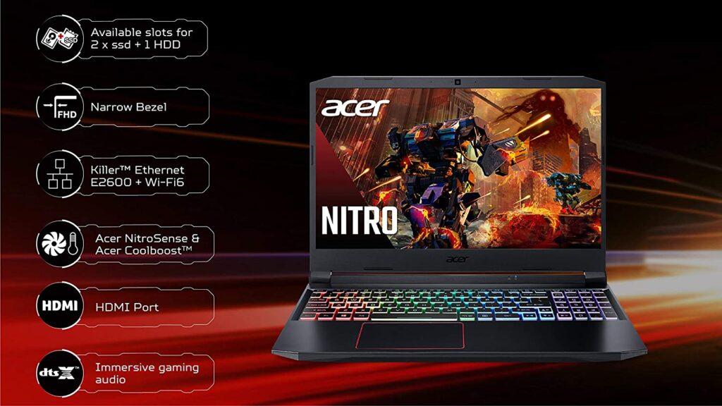 Acer Nitro 5 AN515 55 RTX 3060 Specs