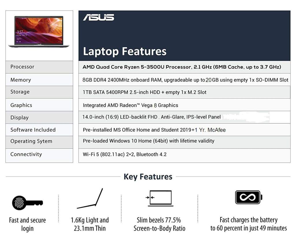 Asus VivoBook 14 M415DA EB502TS