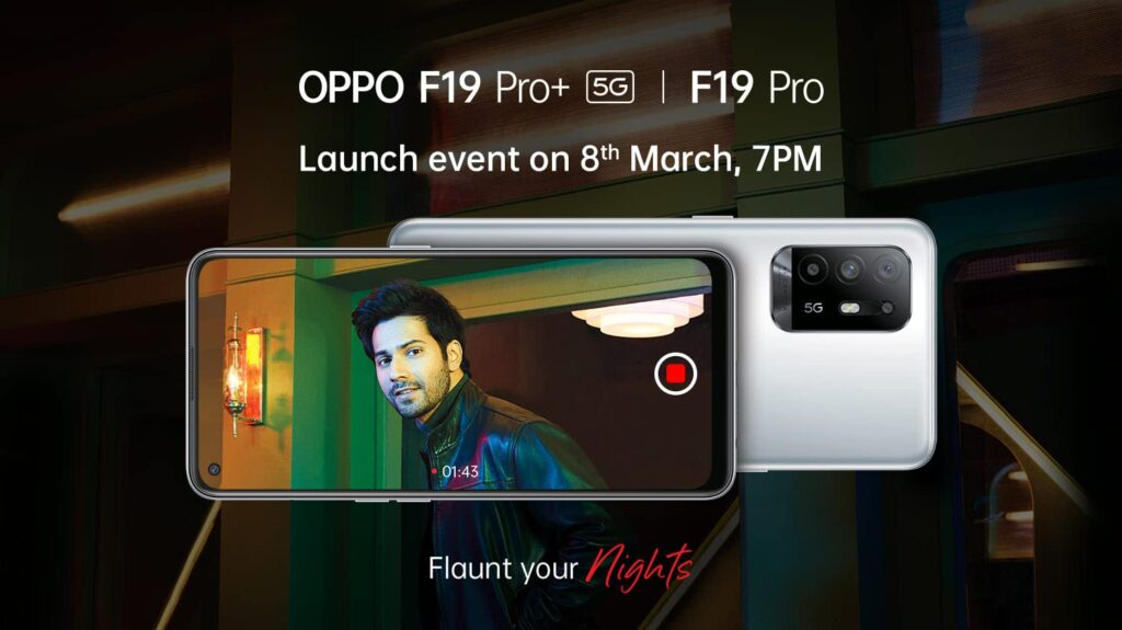 Oppo F19 Pro Plus India Launch Date Amazon