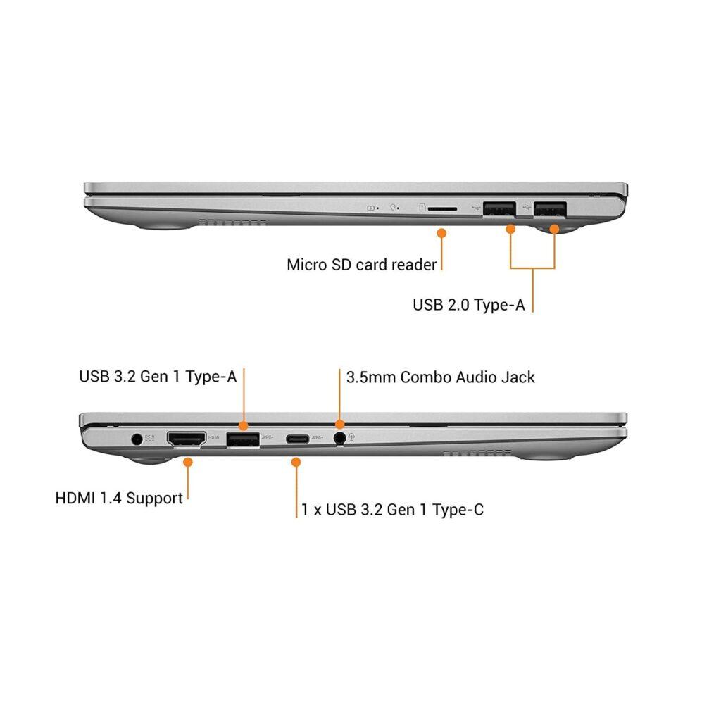 ASUS K413EA EB303TS VivoBook Ultra K14 Ports