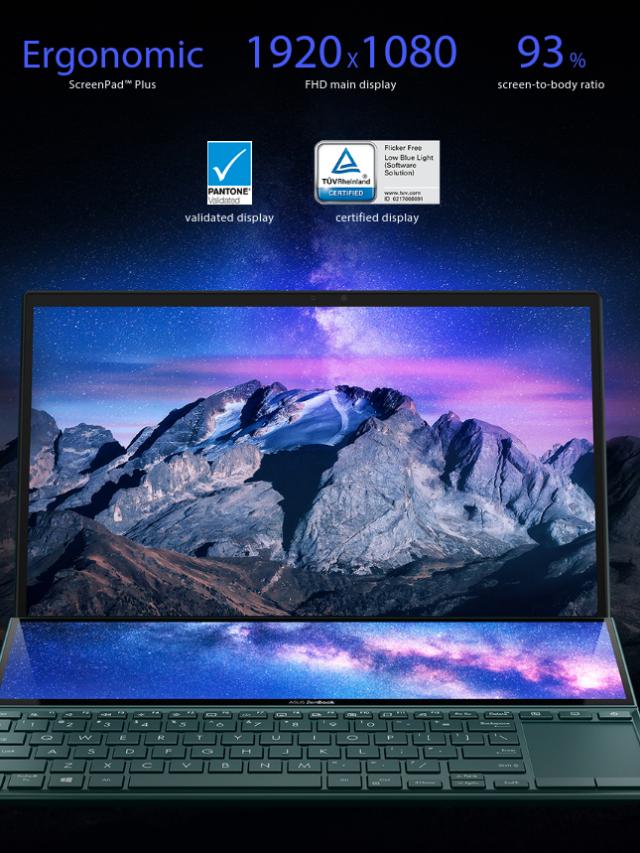 ASUS ZenBook Duo 2021 UX482EG-KA521TS Price in India ( i5-1135G7 / Nvidia MX450 / 16GB / 512GB SSD )