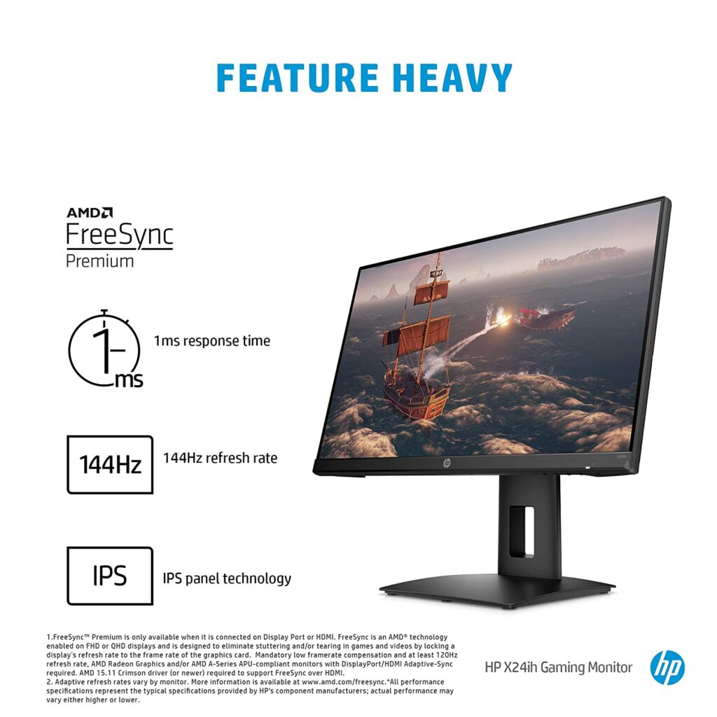 HP X24ih 13L82AA Gaming Monitor
