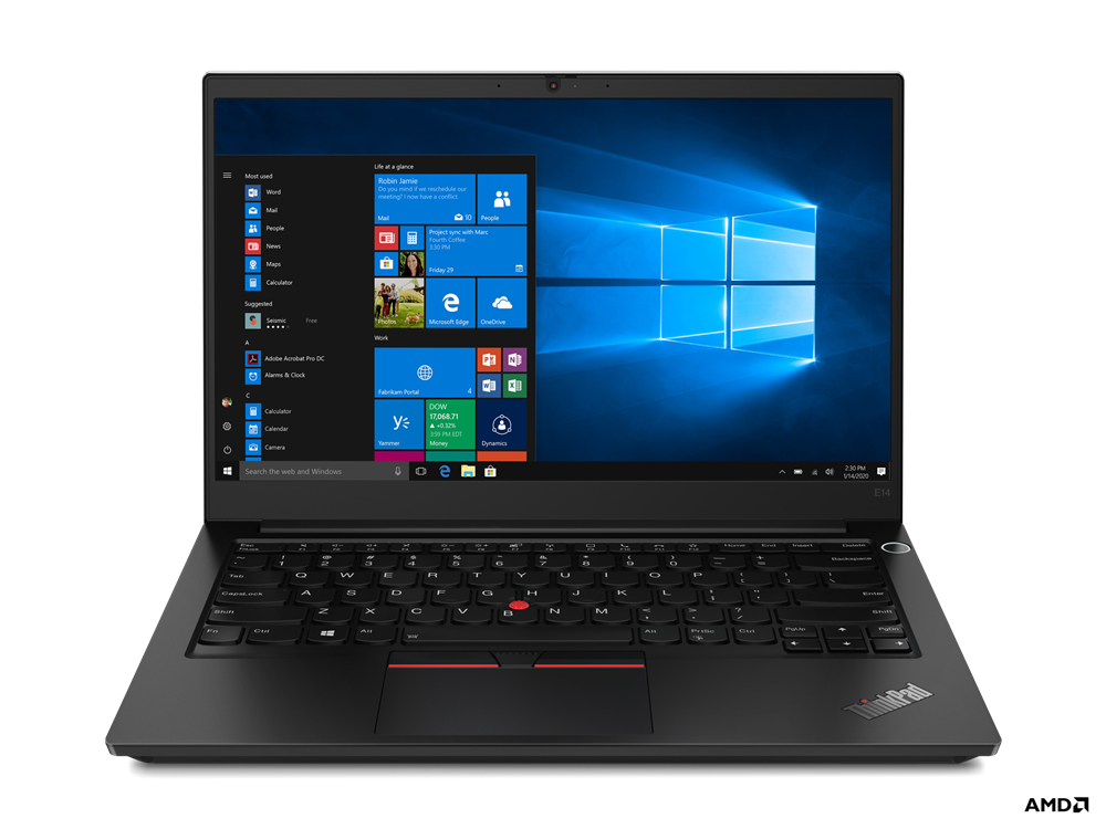 Lenovo ThinkPad E14 20T6S0UQ00 Price in India ( Ryzen 5 4650U / 8GB / 256GB SSD )