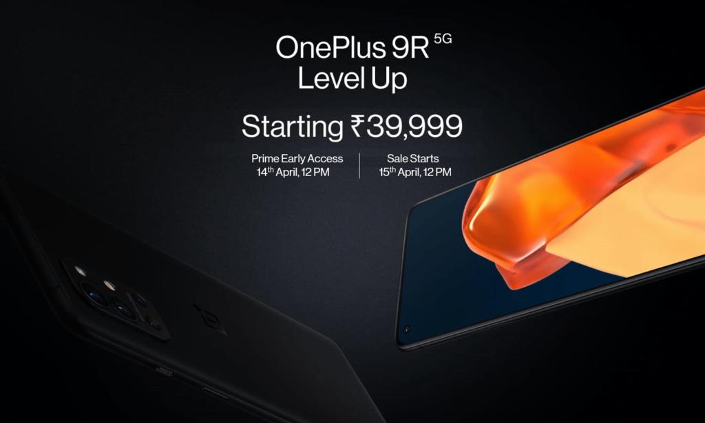 OnePlus 9R 5G next sale amazon india