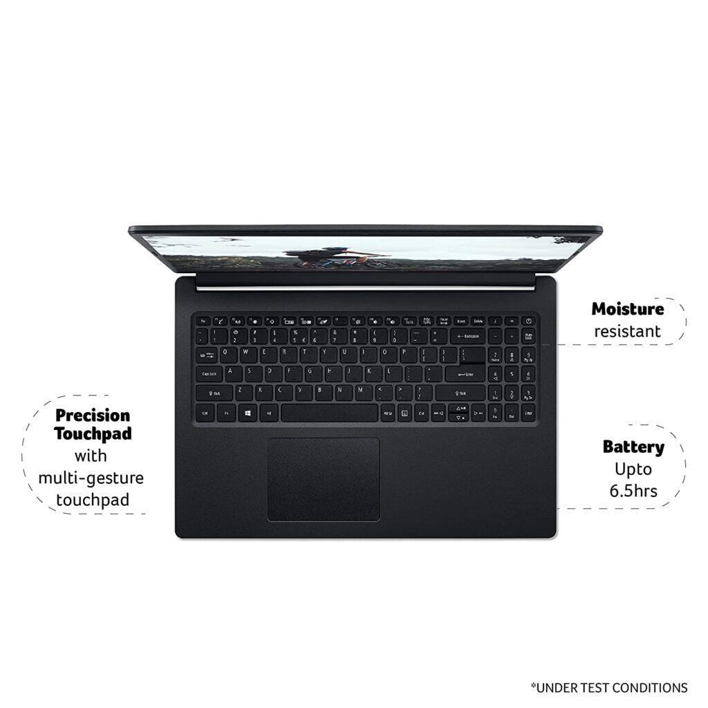 Acer Extensa Laptop EX215 31 keyboard