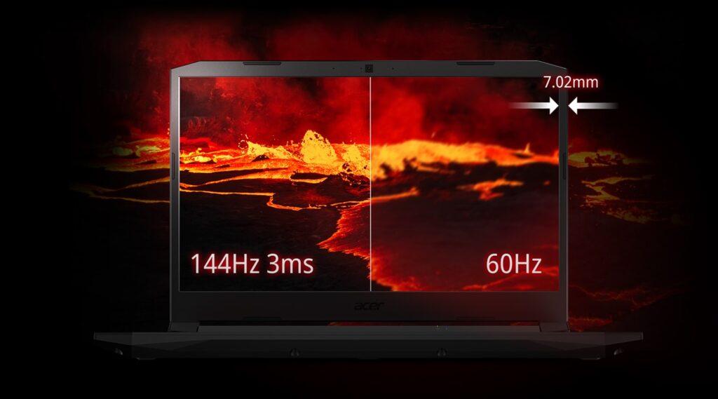 Acer Nitro 5 2021 AN515 UN QBZSI 008 display