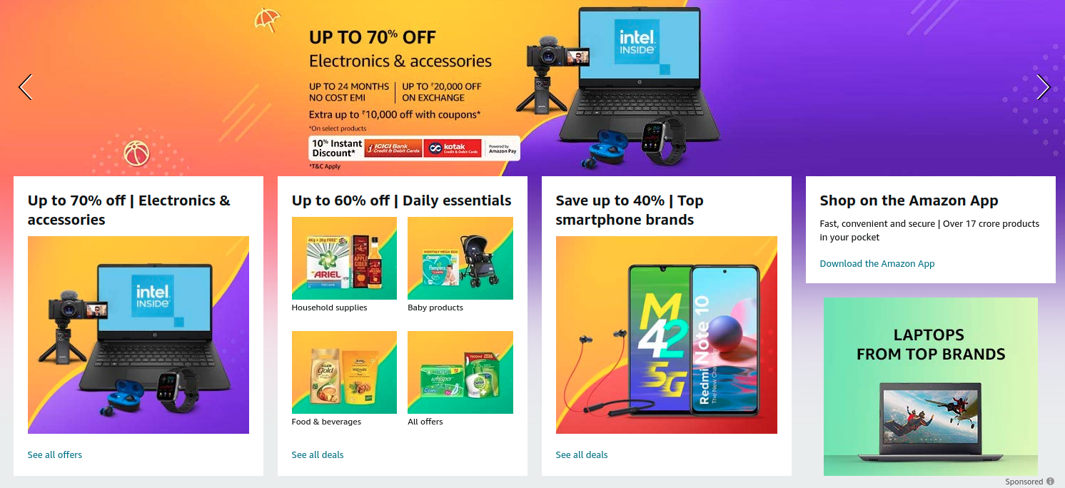 Great Summer Sale Offers at Amazon India [ May 2021 ]