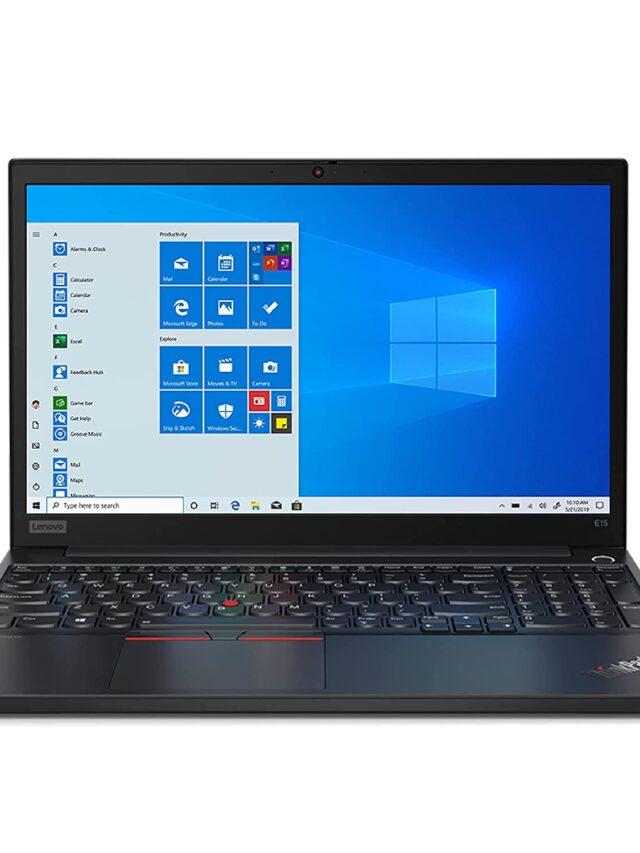 Lenovo ThinkPad E15 2021 20TDS0DW00 Price in India ( 11th Gen Intel Core i5 )