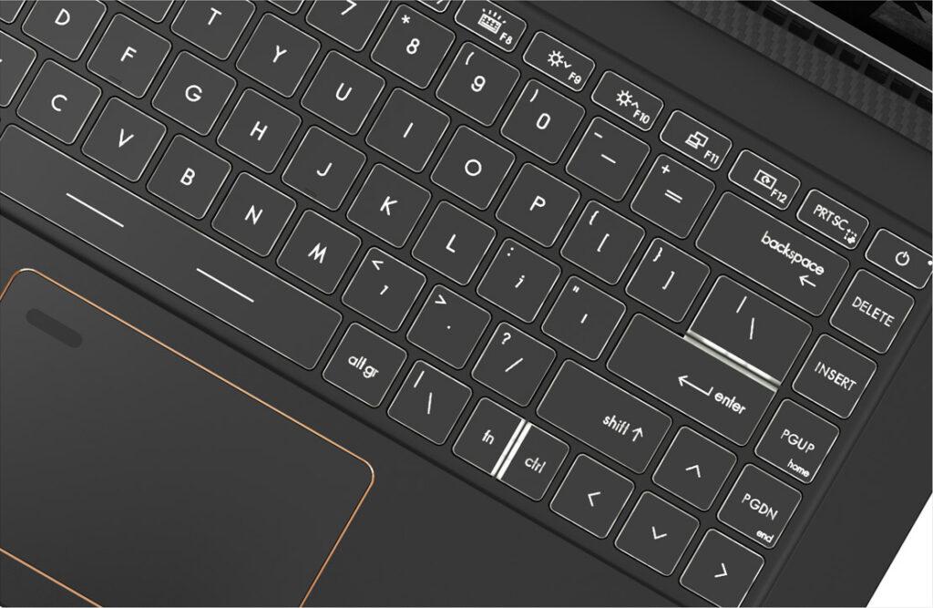 MSI Summit B15 A11M 236IN keyboard