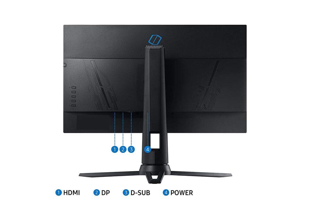 Samsung LF24G35TFWWXXL ports