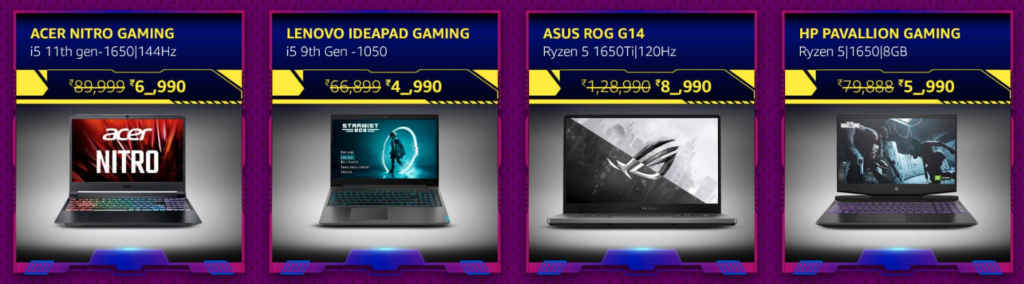 Amazon Grand Gaming Days Offers