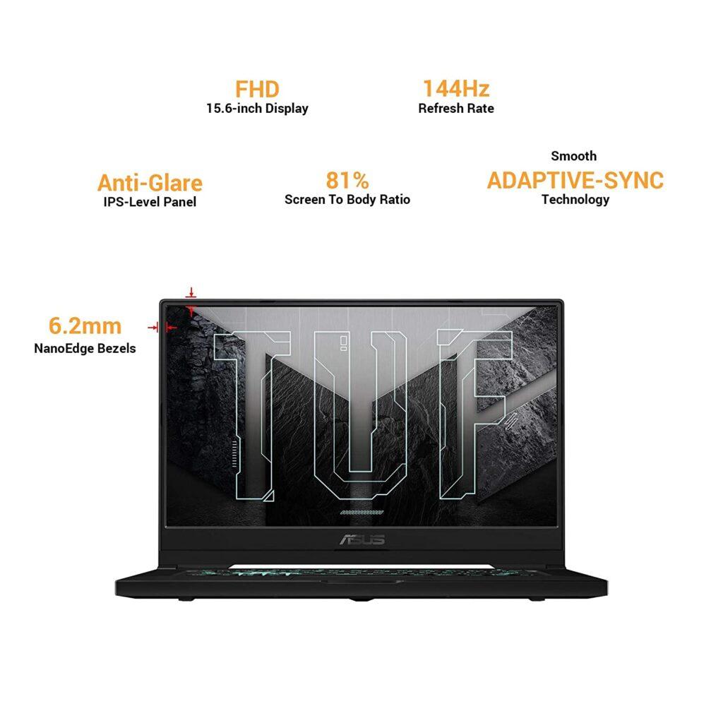 Asus FX516PE HN089TS Display Specs