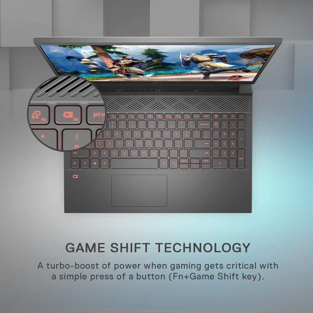 Dell D560475WIN9BE G15 5510 Laptop keyboard