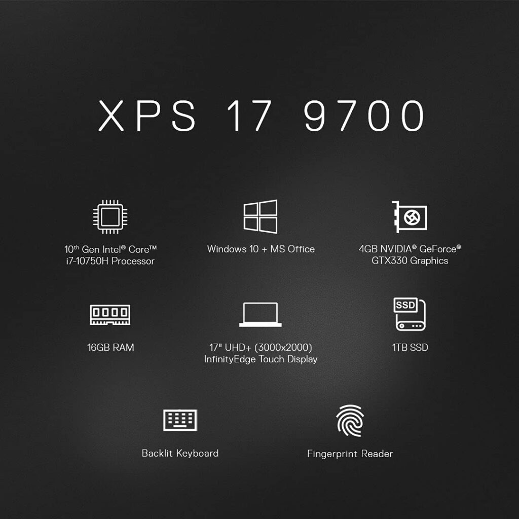 Dell XPS 9700 17 Laptop