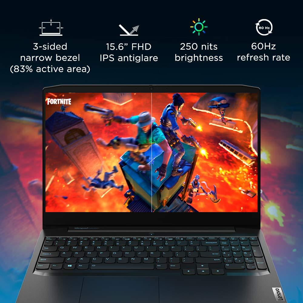 Lenovo IdeaPad Gaming 3 81Y40183IN display