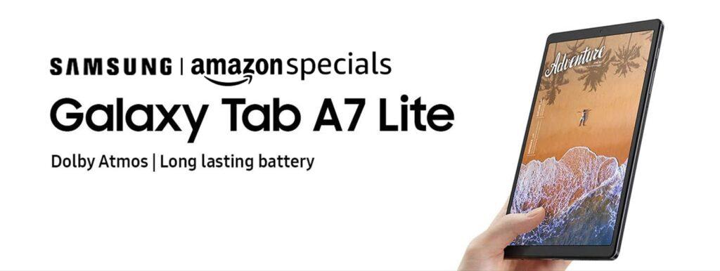 Samsung Galaxy Tab A7 Lite India Launch