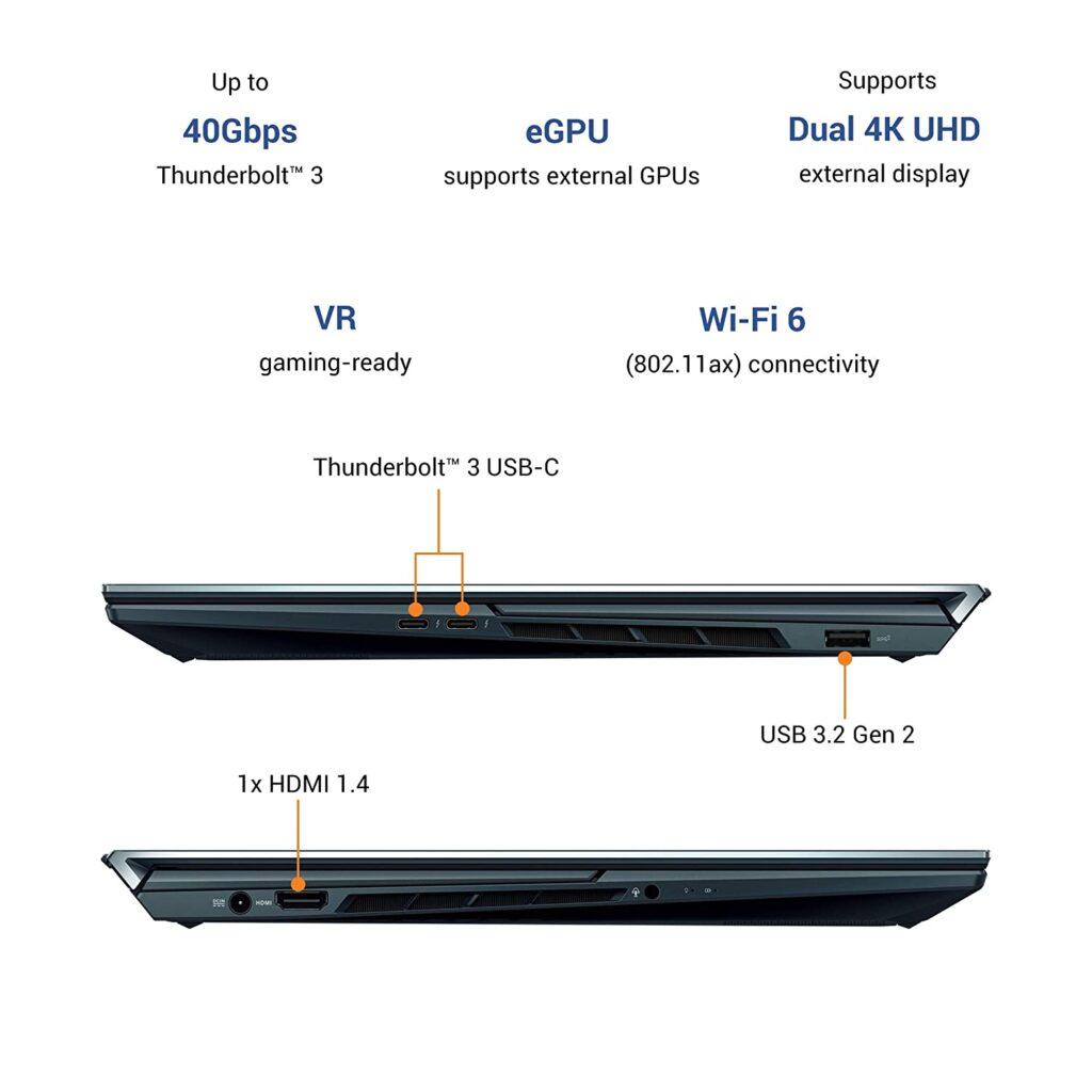 UX582LR H701TS ports asus