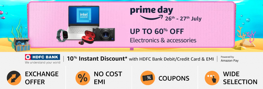 Amazon Prime Day 2021 Electronics Offers