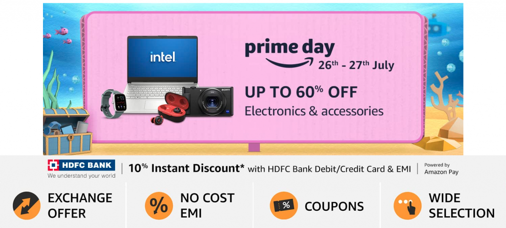 Amazon Prime Day 2021 India Electronics Offers