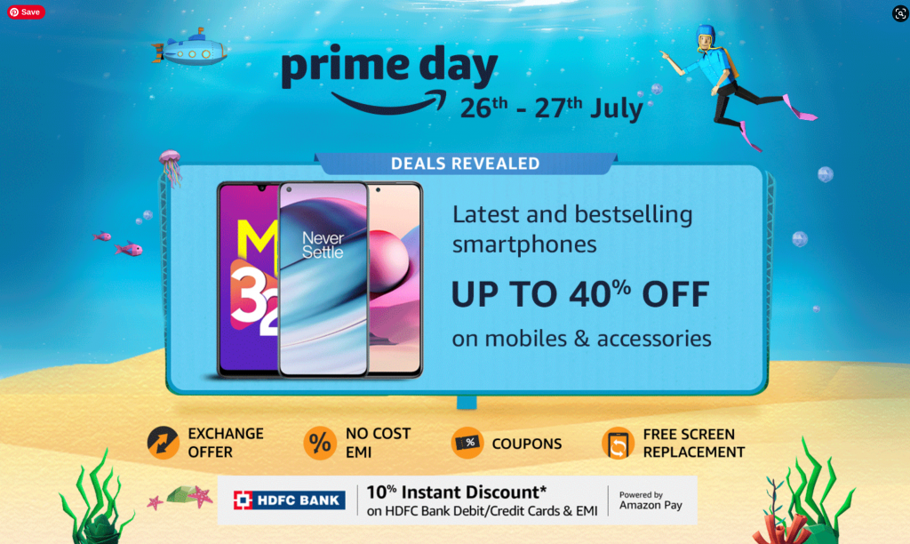 Amazon Prime Day 2021 Mobile Offers