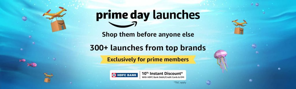 Amazon prime day 2021 new launches